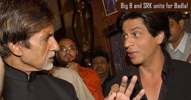Big B and SRK unite for Badla!