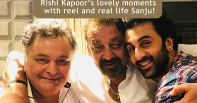 Rishi Kapoor's lovely moments with reel and real life Sanju!