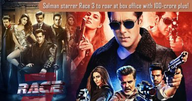 Salman starrer Race 3 to roar at box office with 100-crore plus!