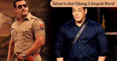 Salman to shoot Dabangg 3 alongside Bharat!