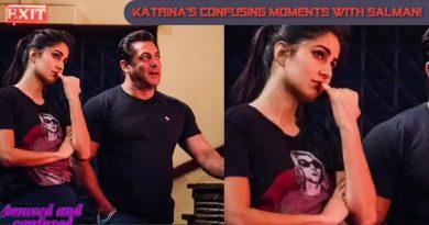 Katrina's confusing moments with Salman Khan!