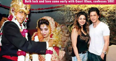 Both luck and love came early with Gauri Khan, confesses SRK!