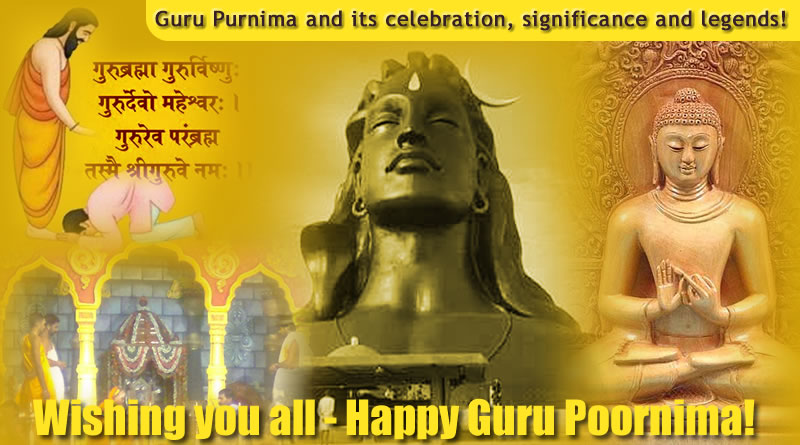 Guru Purnima and its celebration, significance and legends!