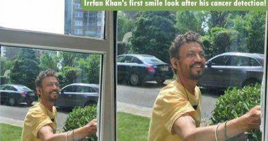 Irrfan Khan's first smile look after his cancer detection!