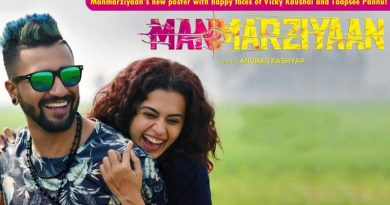 Manmarziyaan's new poster with happy faces of Vicky Kaushal and Taapsee Pannu!