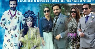 Saif Ali Khan to launch his clothing label 'The House of Patodis' soon!