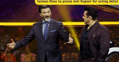 I've always looked up to Anil Kapoor for his acting skills, says Salman Khan!