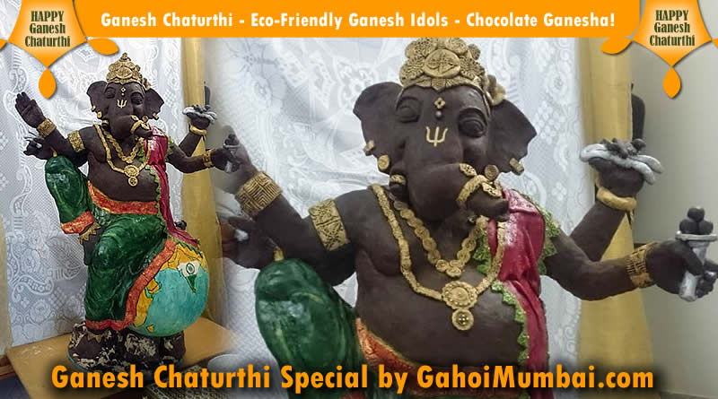 Ganesh Chaturthi - Eco-Friendly Ganesh Idols - Chocolate Ganesha!
