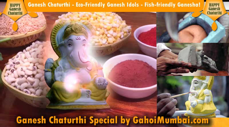 Ganesh Chaturthi - Eco-Friendly Ganesh Idols - Fish-friendly Ganesha!