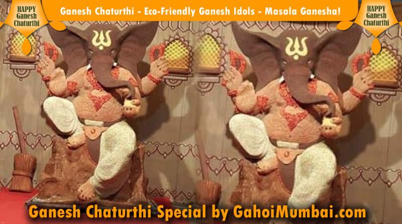 Ganesh Chaturthi - Eco-Friendly Ganesh Idols - Masala Ganesha!
