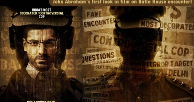 John Abraham's intense cop avatar in first look of film on Batla House encounter!