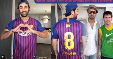 Ranbir Kapoor's exclusive birthday gift from Barcelona!