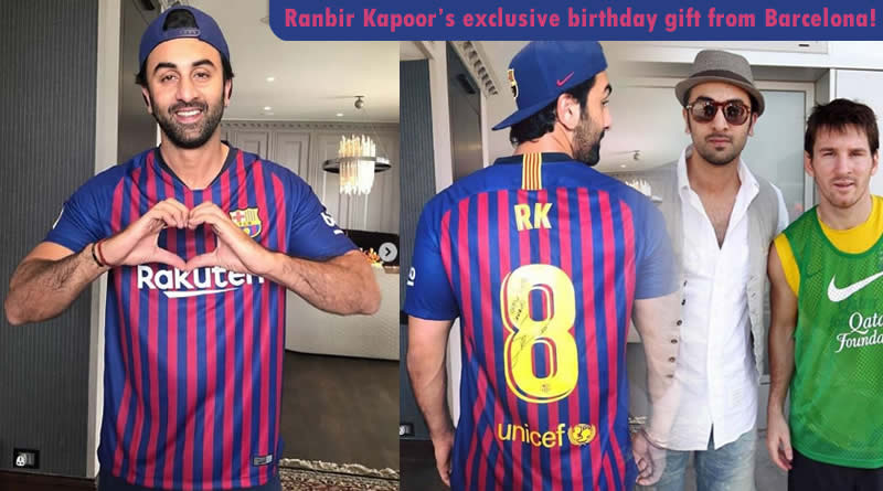 Ranbir Kapoor's exclusive birthday gift from Barcelona!