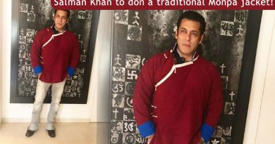 Salman Khan to don a traditional Monpa jacket for Arunachal Pradesh tourism!