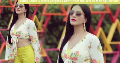 Sunny Leone's latest gorgeous outfit from the sets of MTV Splitsvilla!