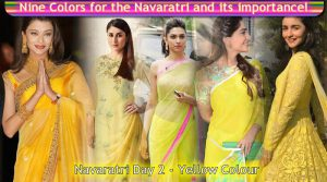 Navaratri Day 2 - Yellow Colour