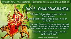 Navaratri Day 3 - Chandraghanta – Significance, History, Aarti and Celebration!