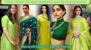 Navaratri Day 3 - Green Colour