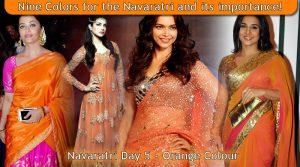 Navaratri Day 5 - Orange Colour