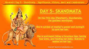 Navaratri Day 5 - Skandmata – Significance, History, Aarti and Celebration!