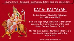 Navaratri Day 6 - Katyayani – Significance, History, Aarti and Celebration!