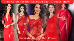 Navaratri Day 7 - Red Colour