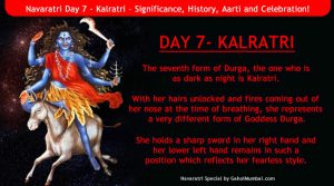 Navaratri Day 7 - Kalratri – Significance, History, Aarti and Celebration!