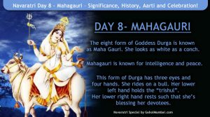 Navaratri Day 8 - Mahagauri – Significance, History, Aarti and Celebration!