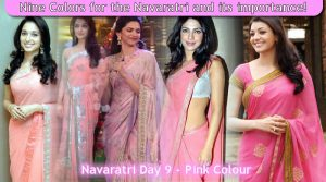 Navaratri Day 9 - Pink Colour