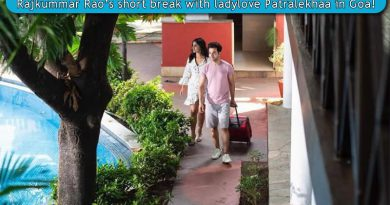 Rajkummar Rao's short break with ladylove Patralekhaa in Goa!