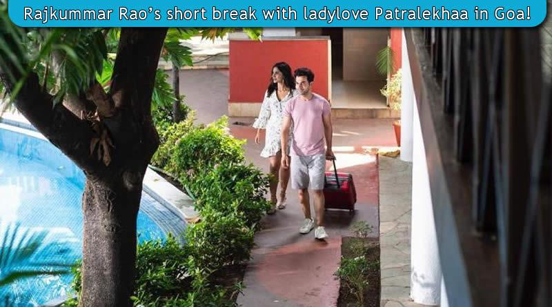 Rajkummar Rao's short break with ladylove Patralekhaa in Goa!