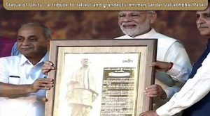 Statue of Unity's inauguration by honourable prime minister Narendra Modi