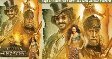 Thugs of Hindostan's new look with warrior avatars of Big B, Aamir and Fatima!