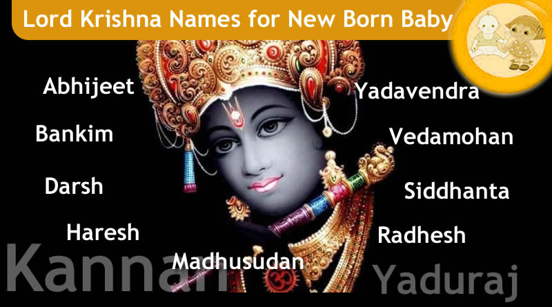 Lord Krishna Names for New Born Baby - 108 Names Of Krishna!