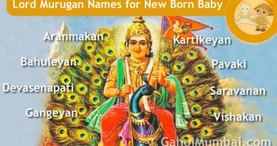 Lord Murugan names - Indian, Hindu and Mythological Gods and Goddesses Names from letter A to Z