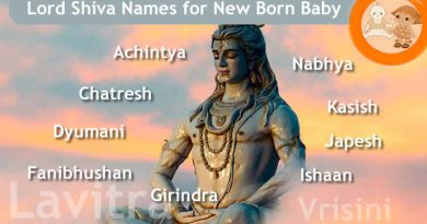Lord Shiva Names for New Born Baby - 108 Names Of Shiva!