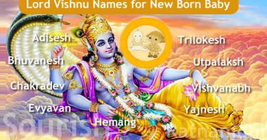 Lord Vishnu Names for New Born Baby - 108 Names Of Vishnu Start From Letter A To Z!