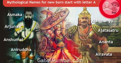 Mythological, Historical, Vedic and Hindu Legendary Names for new born start with letter A!