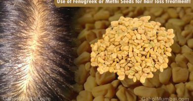Information about Use of Fenugreek or Methi Seeds for hair loss treatment!