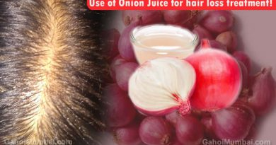 Information about Use of Use of Onion Juice for hair loss treatment!
