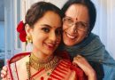 Mother Asha Ranaut's emotional message for Kangana after seeing Manikarnika trailer!