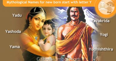Mythological, Historical, Vedic and Hindu Legendary Names for new born start with letter Y with meanings!