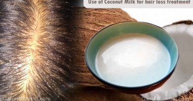 Use of Coconut milk for hair loss treatment!