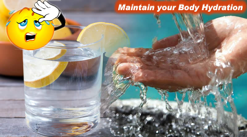 Maintain your Body Hydration