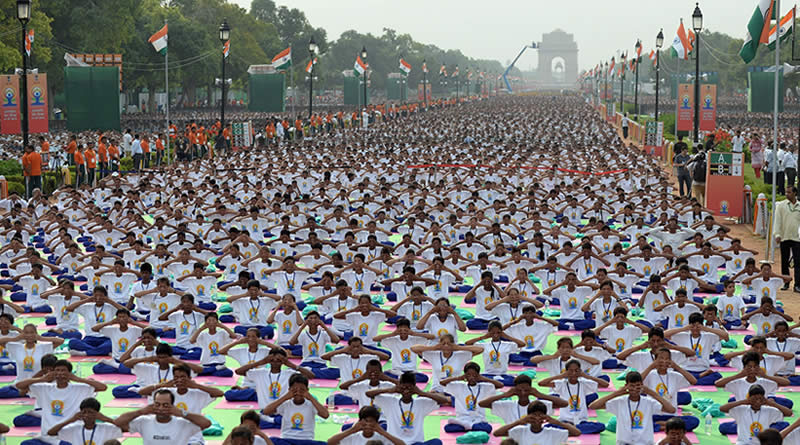 International Day of Yoga - a day for mental and physical well-being!