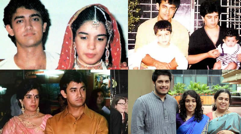 Aamir Khan and Reena Dutta's wedding in 1986