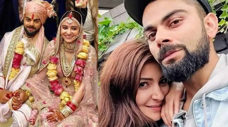 Anushka Sharma and Virat Kohli's wedding in 2017