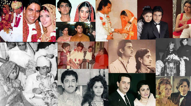 Bollywood Celebs who married in early age during the peak of their career!