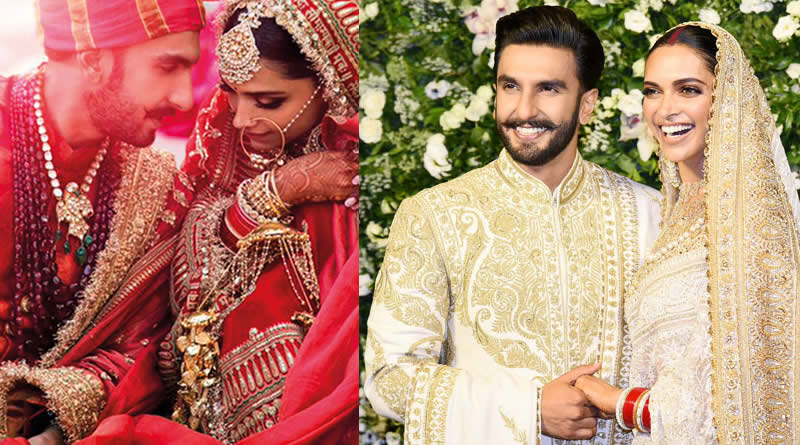 Deepika Padukone and Ranveer Singh's wedding in 2018