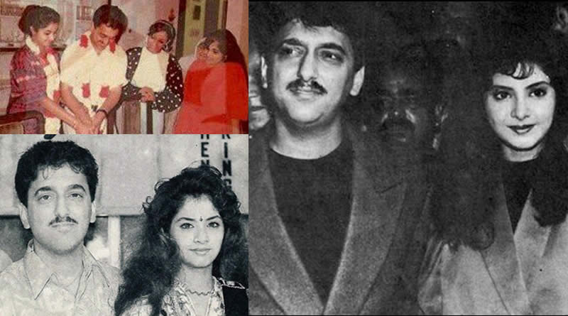 Divya Bharti and Sajid Nadiadwala's wedding in 1992